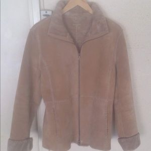 Guess Fur Lined Jacket- Size Small